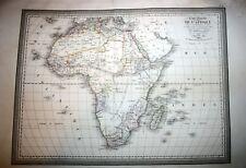 AFRIKA, ARABIA, MADAGASCAR, large copper engraved map by L.Vivien, 1826