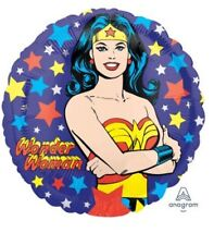 "Wonder Woman 18"" Anagram Balloon Birthday Party Decorations"
