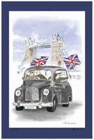 Flying the Flag Linen Union Tea Towel by Samuel Lamont