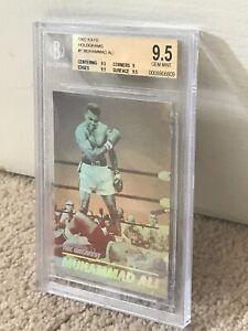 1992 Kayo BOXING Muhammad Ali VS Sonny Liston GOLD 3D HOLOGRAM Gem Mint BGS 9.5