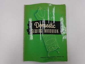 Domestic Sewing Handbook Instructional Techniques