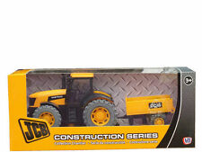 JCB Tractor & Trailer Construction Vehicle Toy Set Boys Toy NEW BOXED