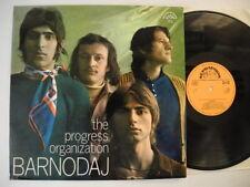 THE PROGRESS ORGANIZATION Barnodaj LP 1971 Supraphon EX   Czech prog rock