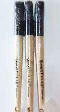 NEW Lot of 3 Plaid Medium Stencil Paint Brush Brushes Crafts Tole Painting