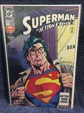 #21-692 +Annual 5-8 EACH SIGNED Jurgens Azzarello Reis Robinson Superman 1987