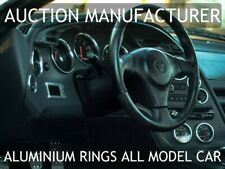 Toyota Supra Mk4 93-98 Polished Aluminium Chrome Dash Instrument Ring Set 12pcs