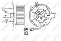 NRF Interior Fan Blower Motor - 34154 |Next working day to UK