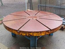"New listing 72"" Diameter Milling Face Plate Welding Work Shop Table Metalworking bidadoo"