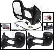 APDTY 066607 Side View Mirror Assembly Fits 1999-2007 Ford F250 F350 (Left)