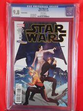 Marvel Comics STAR WARS #1 CGC 9.8 FANTASICO VARIANT COVER 3/15