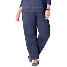 f5832ef441f39 Just My Size Women s Open Leg Sweatpants Size 5X Petite Color Navy Heather