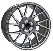 18x8 Enkei Rims TM7 5x114.3 +35 Storm Gray Wheels (Set of 4)