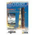 SATURN V US Apollo 11 moon program rocket, cut-out paper model kit 1:150  laser