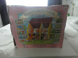 1984  VINTAGE FOREVER FRIENDS BEARS DOLLS HOUSE  - BOXED