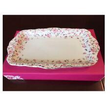 Royal Albert Rose Confetti Vintage Sandwich Tray