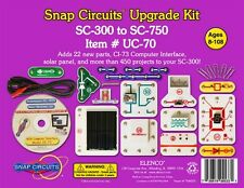 Snap Circuits Uc-70 Upgrade Kit Converts Sc-300 to Sc-750 Ages 8+-Special!