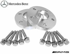 2 Pc 12 mm Mercedes Benz 5x112 mm Hub Centric Wheel Spacers 66.56 W/ Lug Bolts