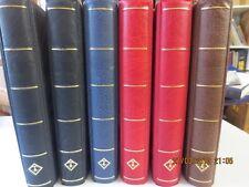 Leuchtturm excellent Ringbinder 6 Stück neuwertig in 4 verschiedenen Farben