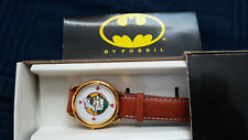 Vintage 1989 Batman Joker Fossil Watch NEW IN BOX!!