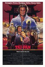 TAI PAN Movie POSTER 27x40 Bryan Brown Joan Chen John Stanton Kyra Sedgwick Tim