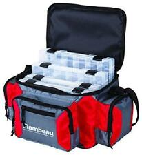 Flambeau Graphite 400 G400R Red Soft Tackle Box Bag Containers Fishing 6188Tb