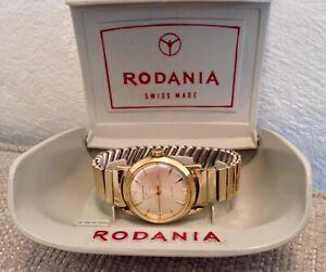 Vintage RODANIA Sport 17 Jewel gents Watch, in excellent working order
