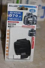 NIKON D70 DSLR CAMERA LCD HOOD AND SCREEN PROTECTOR BNIB