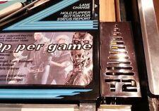 Terminator 2 T2 Pinball Cromo Shooter Lane cubierta Mod