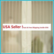 White Screen Door Hands-Free Magic Mesh magnets For Pets STOP Bug Mosquito Fly