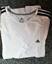 Damen Sport T-Shirt Größe: XL Marke: Adidas, weiß - Clima Lite - siehe Scan