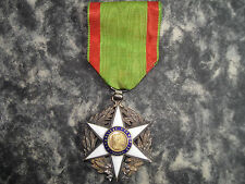 Ancienne Médaille Mérite Agricole 1883 République française