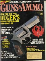 Guns & Ammo Magazine October 1988 Bonus! Special Handgun Issue!