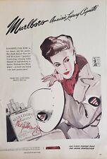 Lot 2 Vintage Philip Morris Marlboro Print Ads american Luxury Cigarette