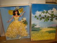 Enchanted Seasons Collection Summer Splendor nrfb  Barbie Doll NRFB #15683