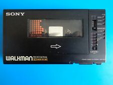 Sony Wm-D6C Cassette-Corder, Walkman, Black! For part or to repair.