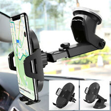 Gravity Car Mount Qi Wireless Charger Charge Pad Mobile Phone Holder Stand WL