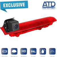 Brake Light Reverse Reversing Rear Camera For VW Transporter T5.1 T6 Barn Doors