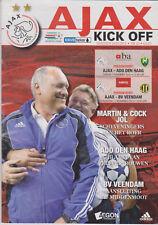 Programma / Programme Ajax Amsterdam v ADO Den Haag 07-11-2010