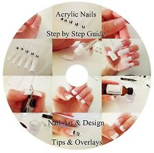 STEP BY STEP GUIDE TO ACRYLIC NAILS DVD - Nail Art & Design, Tips & Overlays