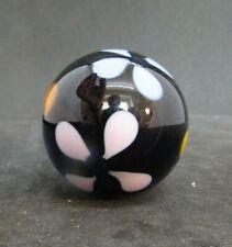"Unsigned Art Glass Marble -   1.41"" diameter (35.9 mm)   (116)"