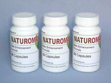 3 x Naturomax Male Enhancement BIG Erection Enlargement Best Vimax Penis Pills
