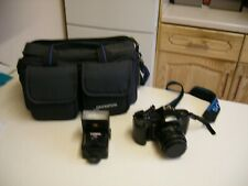 1980's Olympus OM101 Power Focus SLR Camera Kit (2468)