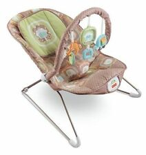FISHER PRICE COCOA SORBET FASHION COMFY TIME BOUNCER NEW