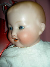 Large antique German bisque, Armand Marseille 352 character baby doll