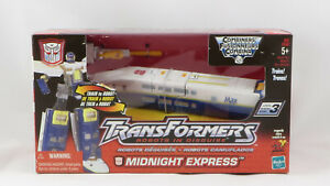 Hasbro Transformers 2001 Robots In Disguise Rail Racer COMBINER TRAINBOTS MISB