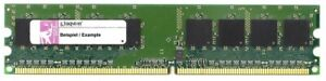 1GB Kingston DDR2-533 Value RAM PC2-4200U Kvr533d2n4/1g Storage Memory Modules