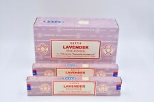 Satya Nag Champa Lavender scent dhoop Best Incense Sticks Yoga Agarbatti 12Pk15g