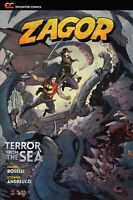 Terror from the Sea (2nd Ed, 2019 Paperback), GN, Boselli, Andreucci, Rubini