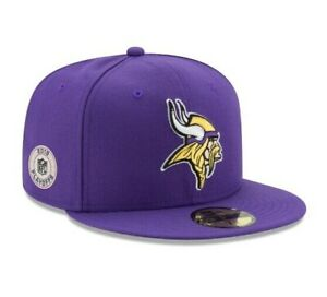 MINNESOTA VIKINGS NEW ERA HAT 59FIFTY FITTED NFL PLAYOFF FOOTBALL CAP