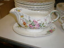 "ROYAL DOULTON ""ARCADIA"" Gravy w/Detached Underplate"